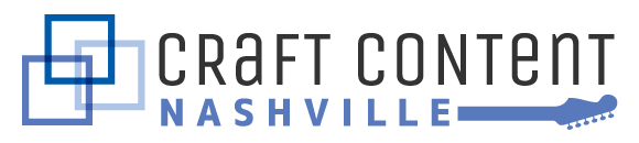 Craft Content Nashville 2016